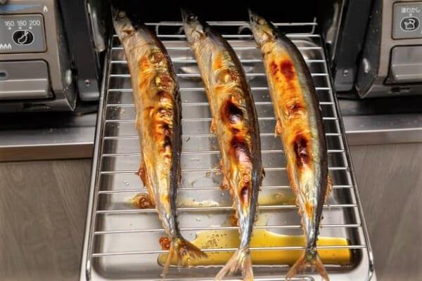 魚焼きグリル さんま