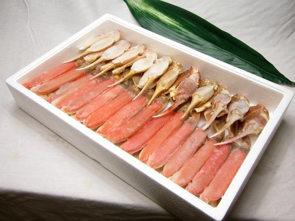 カット済み生ずわい蟹