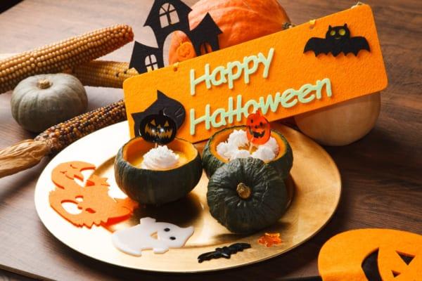 お菓子作り苦手でも余裕!かぼちゃプリンはマシュマロとレンジで作れちゃう!