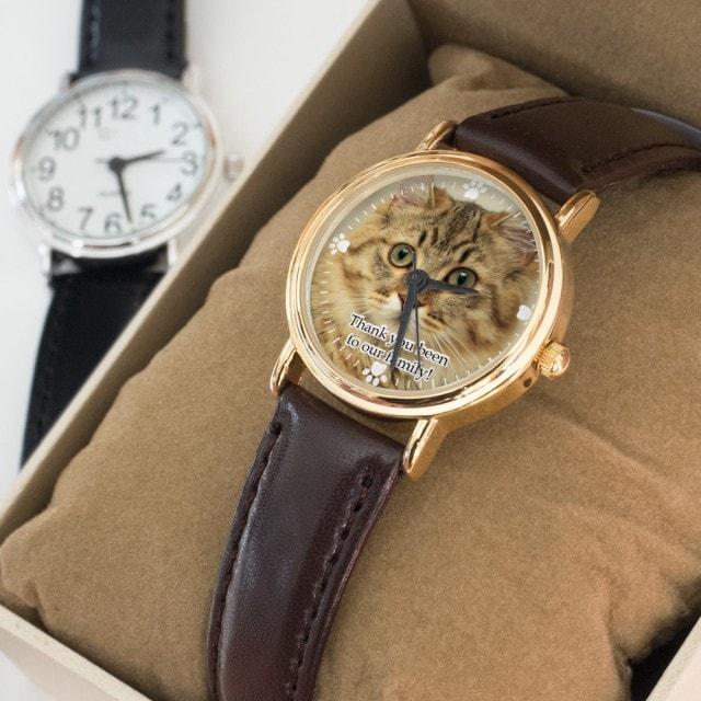 写真で作るオーダーメイド腕時計