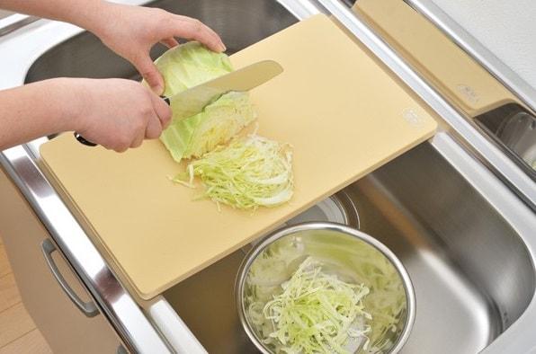 まな板 抗菌エラストマーシンクまな板 プラスチック L 日本製