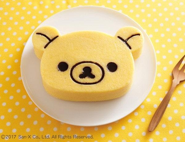 リラックマ ケーキ型 シリコン製