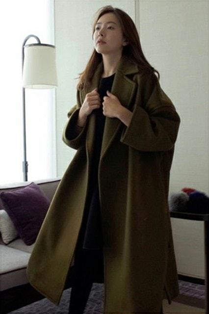 チェスターコート ロング丈コート マキシ丈 ゆったりサイズ感