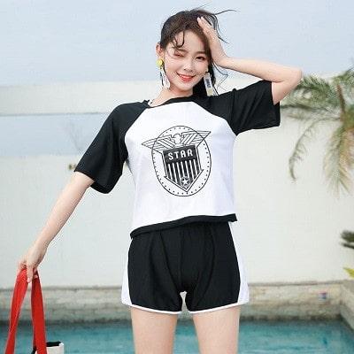 ◆10代におすすめの体型カバー水着