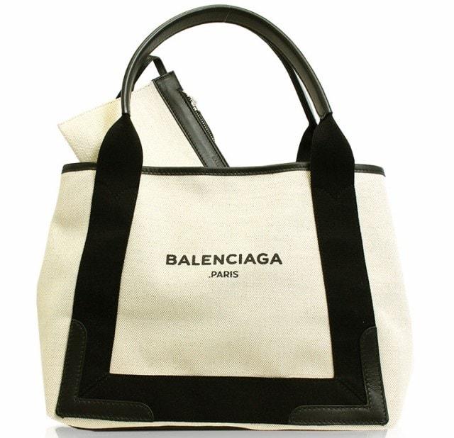 BALENCIAGA(バレンシアガ) トートバッグ キャンバス レザー