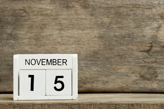 11月15日