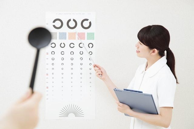 眼科の定期健診