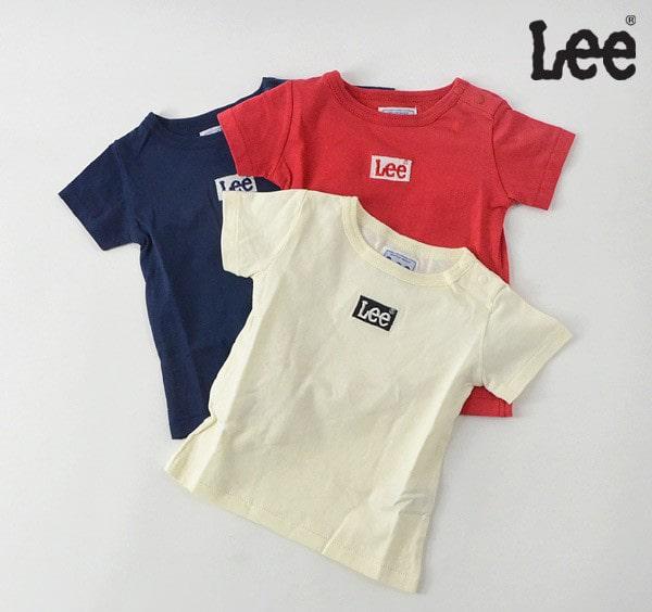 Lee(リー)刺繍BOXロゴTシャツ