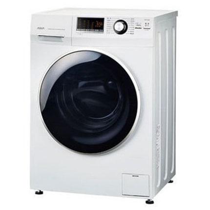 ◆AQUA ドラム式全自動洗濯機 AQW-FV800E(洗濯容量8kg/乾燥なし)