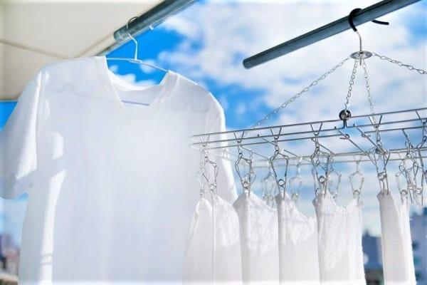 昼間の外干しは絶対NG?!花粉が付きにくい洗濯物の干し方、知らなきゃ損!