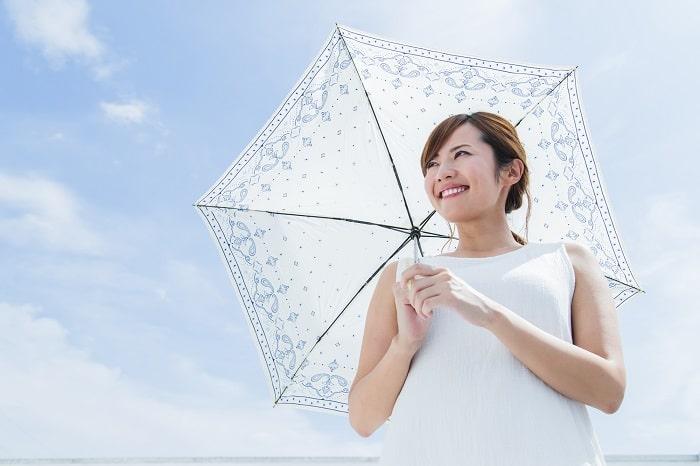 ミストが出る日傘?!涼しい空気を持ち歩いて夏のマスクも猛暑も乗り切れ!