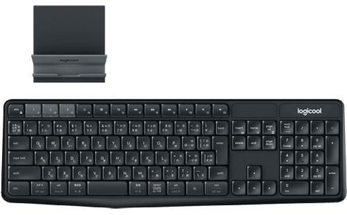 logicool(ロジクール)ワイヤレスキーボード&スタンド K375S MULTI-DEVICE