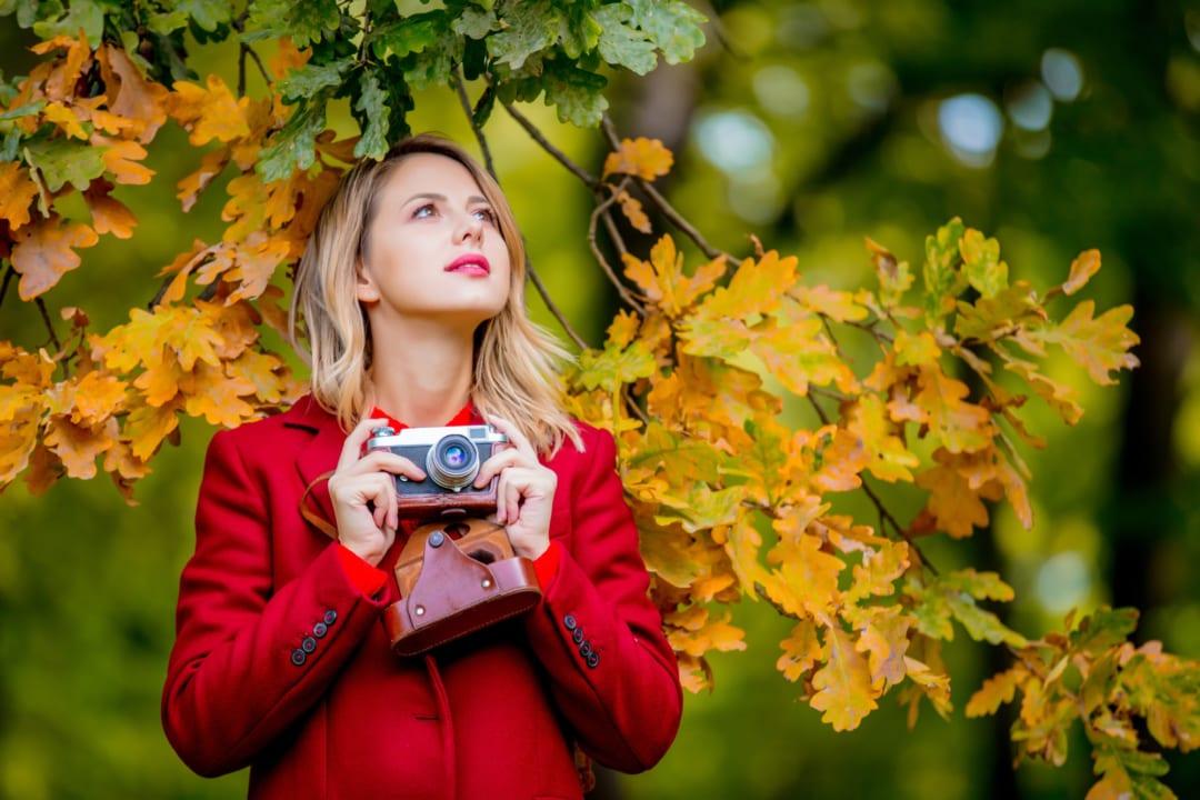 紅葉を見に行こう!初心者、女子におすすめの一眼レフやミラーレスカメラ