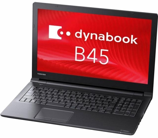 東芝 ノートPC B45/10Pro64/C3855U/15.6HD/4G DynaBook