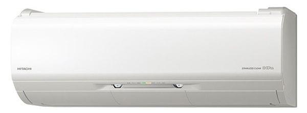 冷暖房時12畳程度 日立「ステンレス・クリーン 白くまくん Xシリーズ RAS-X28J」
