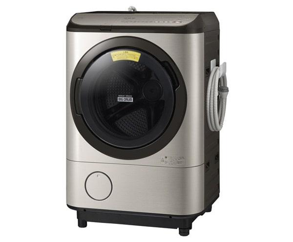 日立 ビッグドラム ドラム式洗濯乾燥機 BD-NX120EL-N
