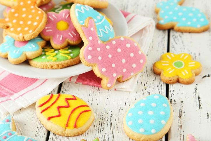 ウサギのアイシングクッキー
