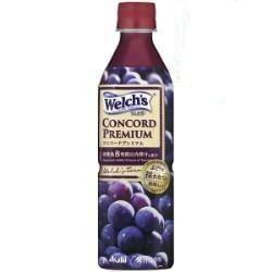 カルピス|Welch'sウェルチ|カルピス Welch'sウェルチ コンコードプレミアム 500mlペットボトル 24本入