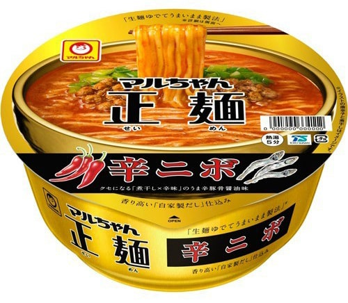 マルちゃん 正麺カップ辛ニボ