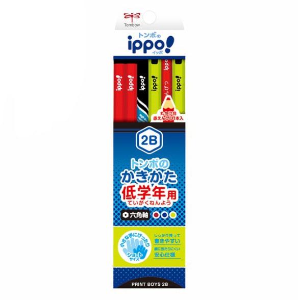 トンボ イッポ 低学年用かきかた鉛筆 2B