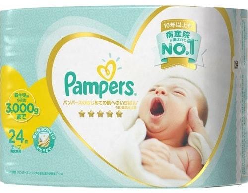 パンパース はじめての肌へのいちばん 新生児小さめ