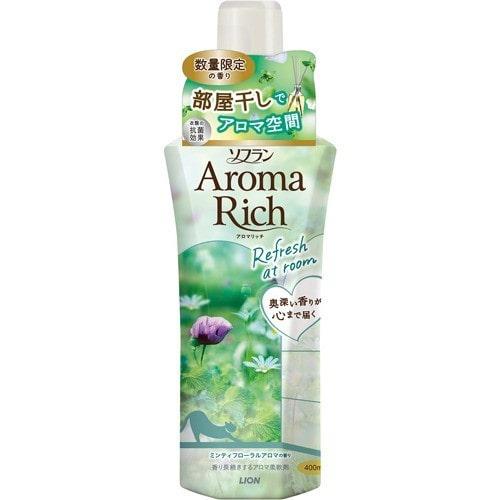 ソフラン AromaRich ミンティフローラルアロマの香り 400mL