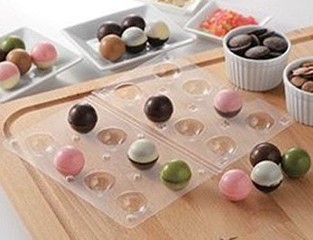 チョコレートモールドボール型