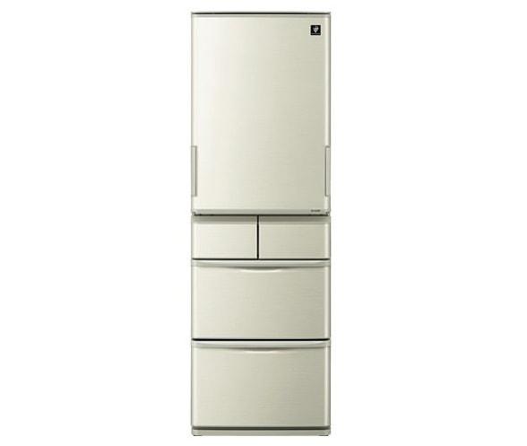 シャープ どっちもドア 5ドア冷蔵庫 SJ-W411E 412L