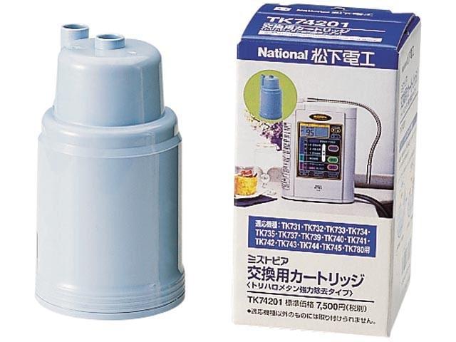 Panasonic カートリッジ式ろ材 (中空糸膜・抗菌活性炭タイプ) TK74201