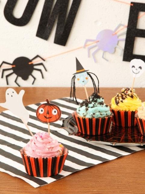ハロウィンカップケーキキット
