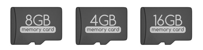 microSDカードの容量