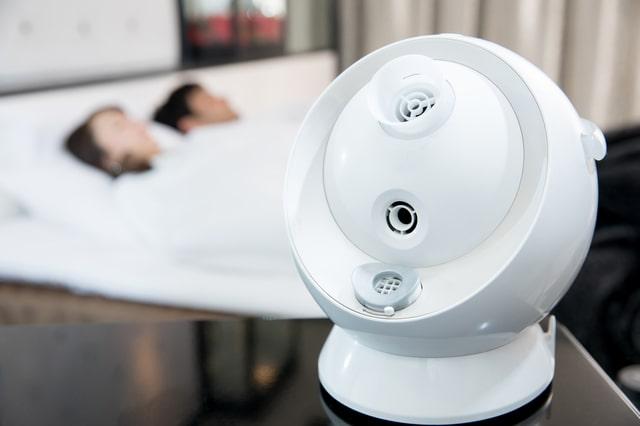 加湿器をつけたまま寝てもいい?