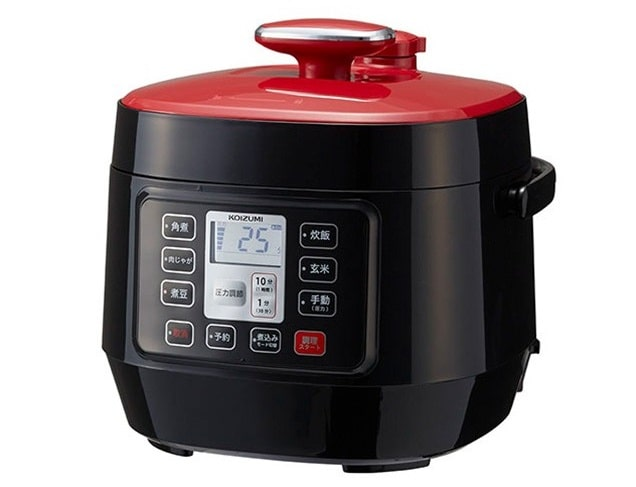 コイズミ マイコン電気圧力鍋 KSC-3501-R