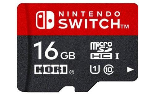 ホリ マイクロSDカード16GB for Nintendo Switch