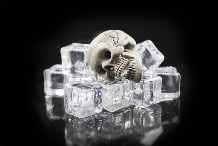 ハロウィン氷