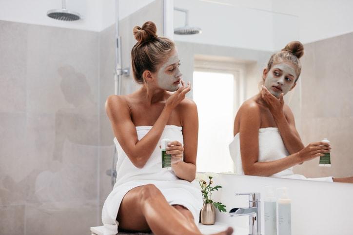 フェイスマスク お風呂