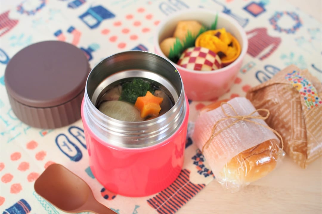 冷めたランチはもう卒業!保温弁当箱であったかごはんとスープを堪能