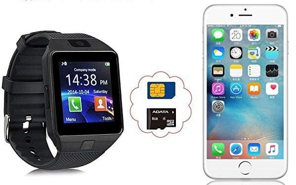 SIMカードが挿入可能な多機能スマートウォッチ