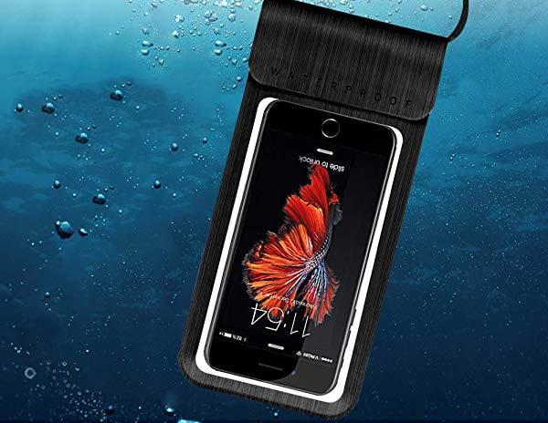 携帯防水ケース IPX8認定