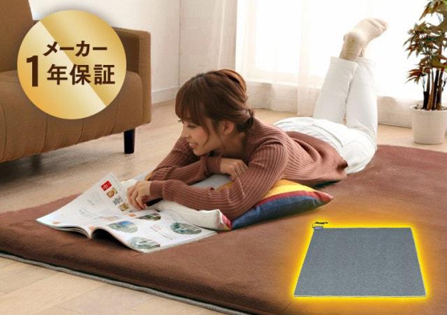 ホットカーペット 2畳用 電気カーペット 小さい リビング 暖房 本体 TEKNOS