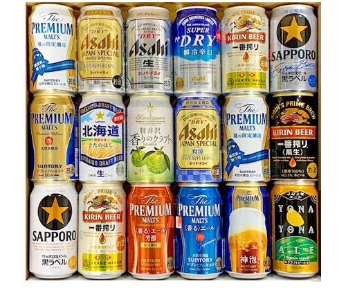 国産プレミアムビール 飲み比べ 夢の競宴 ギフトセット