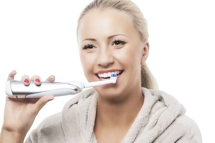 ブラシを歯に当てる角度に気を付ける