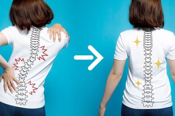【今日は何の日?】繰り返す肩こり・腰痛に!『背骨矯正ベルト』で原因を解消!
