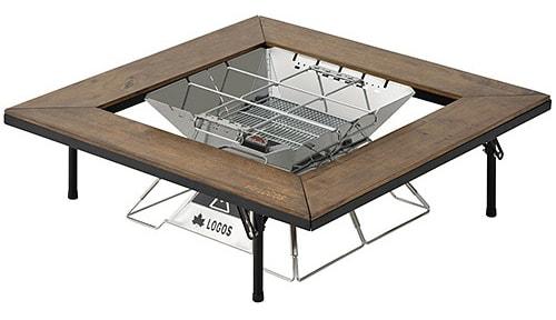 囲炉裏スタイル アウトドア テーブル