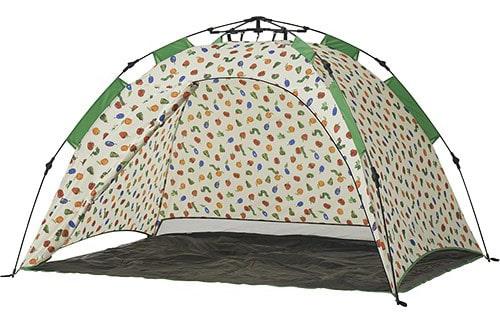 LOGOS ロゴス はらぺこあおむし Q-top フルシェード テント