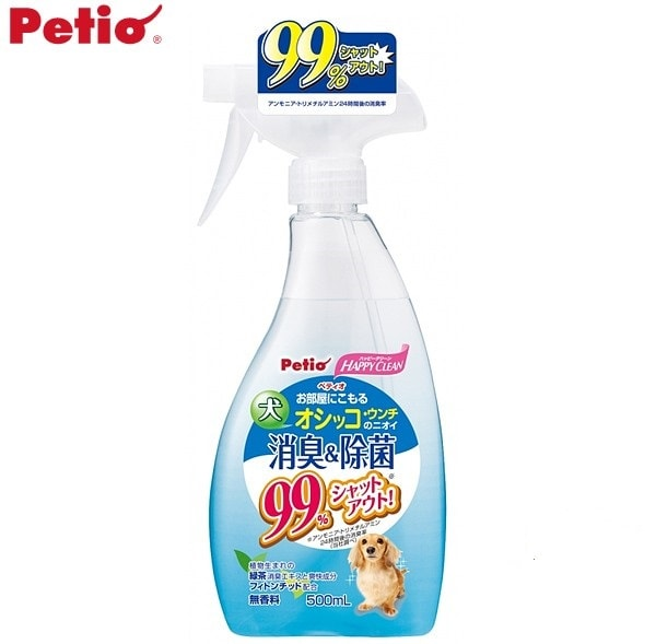 「ペティオハッピークリーン 犬のニオイ消臭&除菌 500ml」