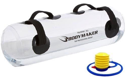 ボディメーカー(BODYMAKER) ウォーターバッグ 30kg クリア エアーポンプセット