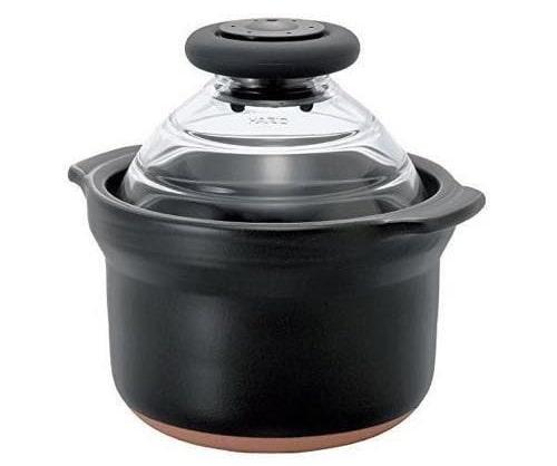 ハリオの萬古焼 炊飯 土鍋 1合専用