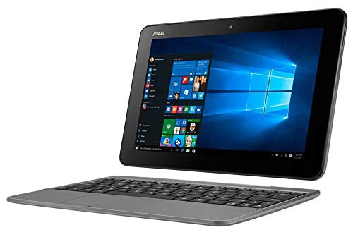 ASUS JAPAN NB グレーシアグレー 10.1 (Touch)1280×800 WXGA x5-Z8350 4G 128G eMMC 802.11ac BT4.1 T101HA-G128