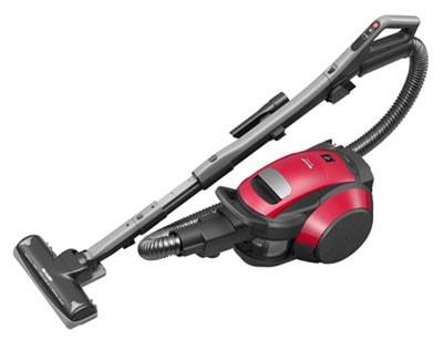 シャープ サイクロン式掃除機 EC-FX60T-R キャニスター型